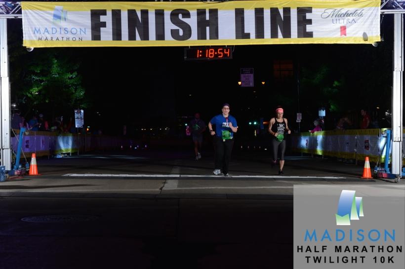 10 k finish